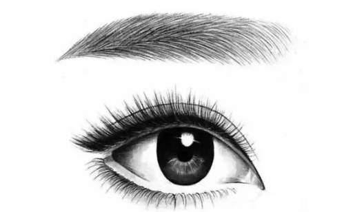 素描课《眉眼画法》半永久定妆课程