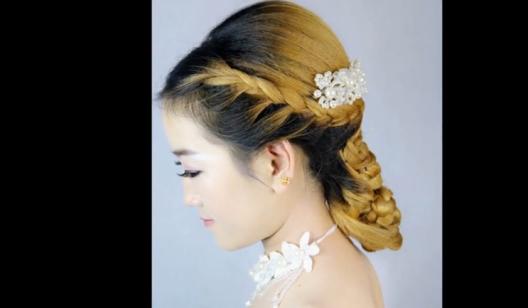 所有原创编发视频 超漂亮的一款韩式新娘编发