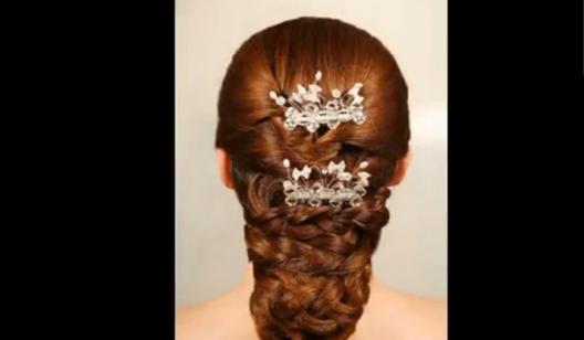 1、新娘发型之一