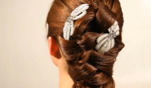 2、新娘发型之二