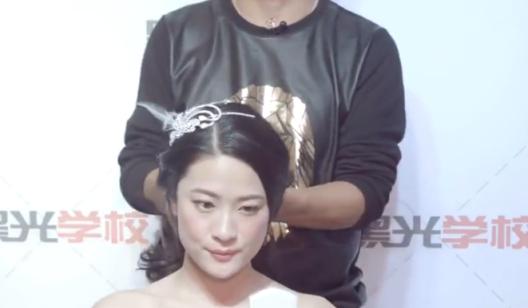 06 第5节韩式简洁新娘造型2