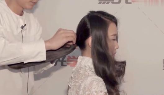 10 造型四  优雅新娘鲜花波纹造型(上)