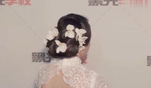 12 造型四  优雅新娘鲜花波纹造型(下)(1)