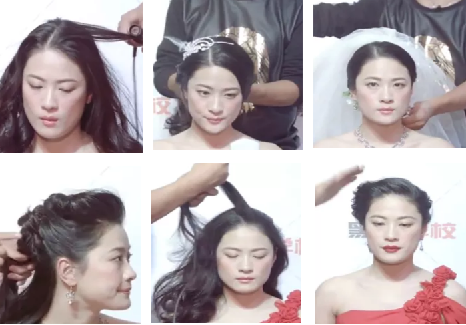 简洁高贵韩式欧式新娘妆全套娘妆造型课程