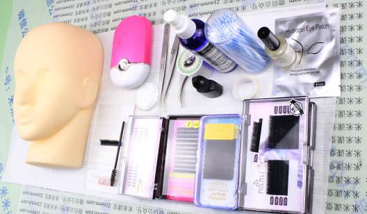 嫁接睫毛工具材料课-专业日式美睫在线课程