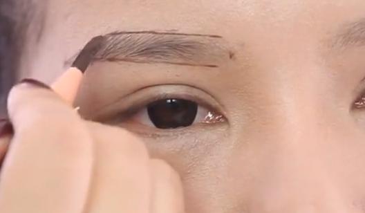 简单易学的眉型塑造规则--化妆在线课程