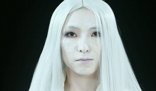 仿妆特效之周xun《huahuapi2》----暗黑系特效化妆