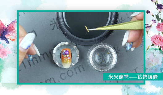 初级-指甲钻饰镶嵌技术